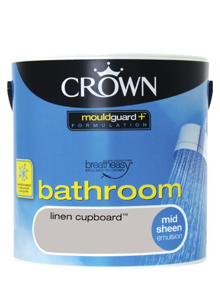 Crown Mould Guard Bathroom Paint tin