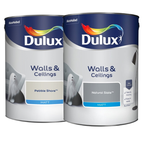 Dulux walls and ceilings tins