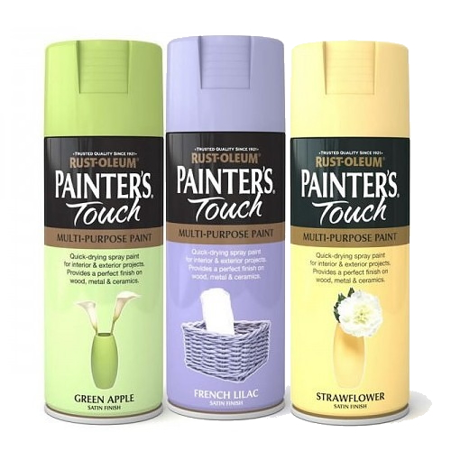 Rust-oleum Painter's Touch Spray Paint cans